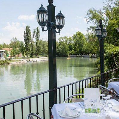 Restaurantes cerca de un río con mucho encanto