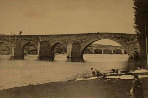 puente rio tormes foto antigua