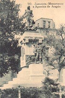 monumento a agustina de zaragoza