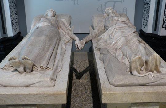 los amantes de teruel sepulcro