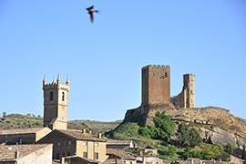 ruinas del castillo de uncastillo