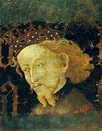 retrato rey jaime i de aragon
