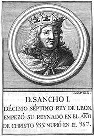 La dieta real de Sancho I de León