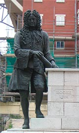 estatua de rooke en gibraltar