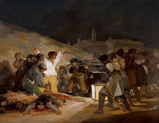 cuadro fusilamientos 3 de mayo de goya