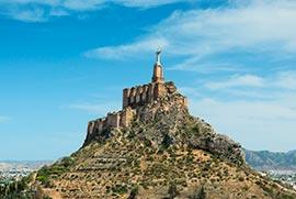 ruinas castillo monteagudo