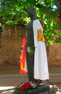 estatua cristina de noruega