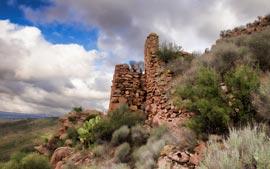 ruinas castillo de olocau