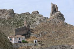 ruinas del castillo de rueda de jalon