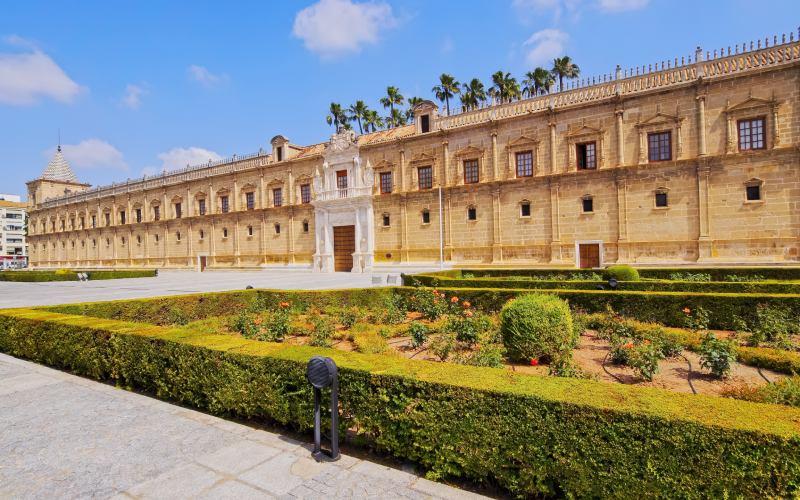 El Hospital de las Cinco Llagas, entonces de la sangre, vio morir a miles de personas en Sevilla