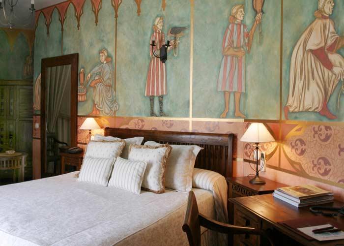 dormir simancas hotel jardin abadia