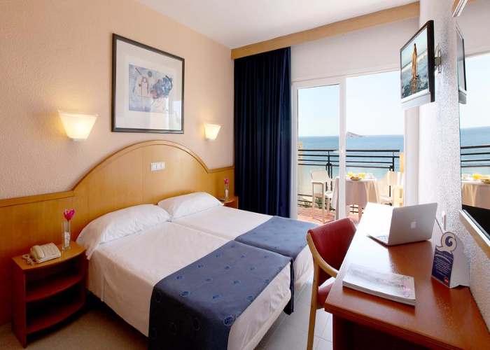 dormir benidorm hotel poseidon playa