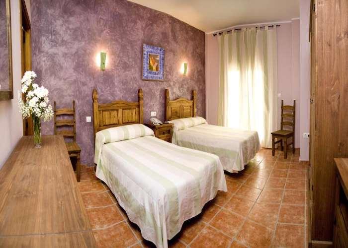 dormir alange hotel rural arriero