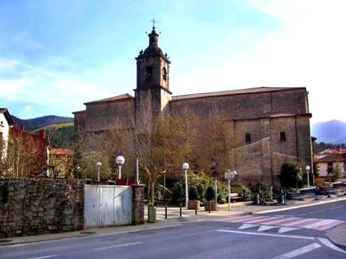 Iglesia de San Martín de Tours en Zegama