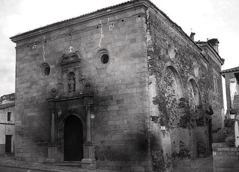 foto antigua Iglesia de San Pedro en Alcántara