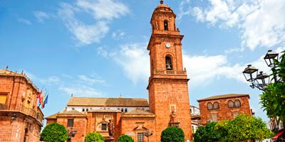 Plaza de España de Montoro