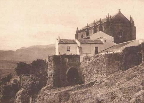 iglesia espiritu santo ronda foto antigua