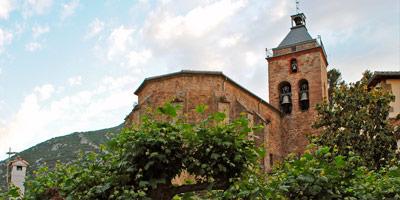 Iglesia de la Natividad en Monreal