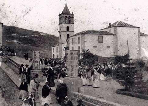 foto antigua icod vinos