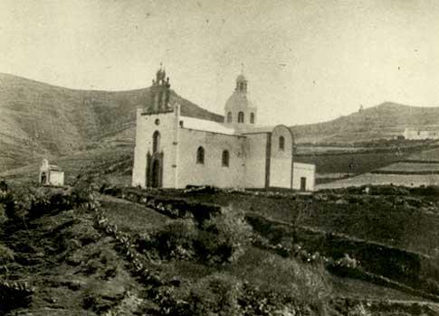 Fotografia antigu Iglesia Sagrado Corazon Jesus Arbejales