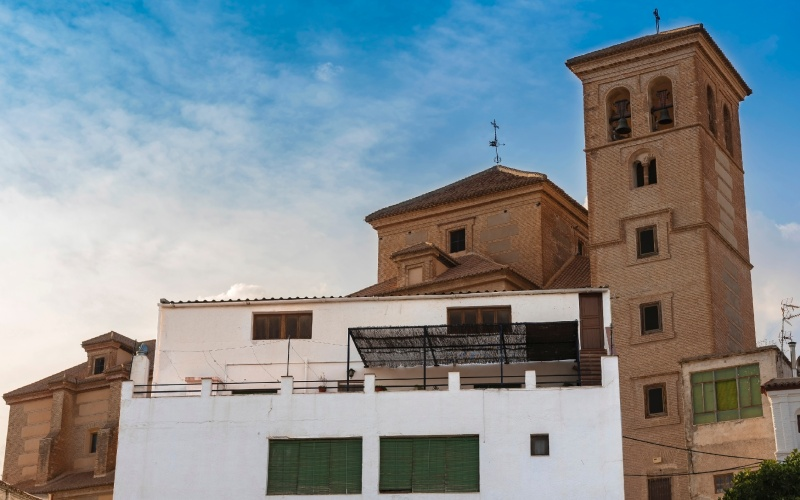 """La Iglesia de la Encarnación está considerada """"la catedral de La Alpujarra"""""""