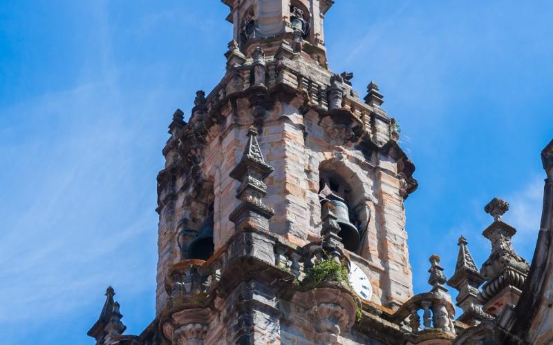 Campanario de la iglesia de San Severino, Balmaseda