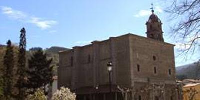 Iglesia de Santa María Oxirondo en Bergara
