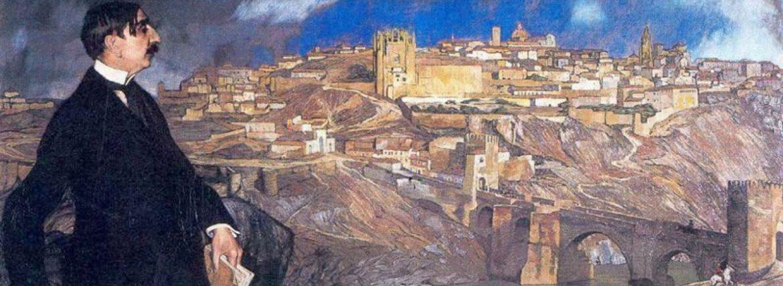 Calma en la Toledo de Zuloaga | Cuadros con vida