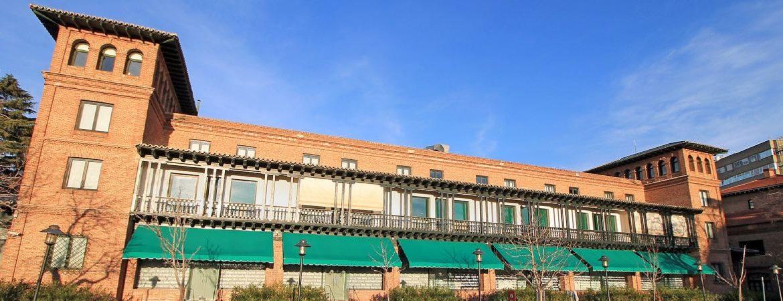 Uno de los edificios que componen la Residencia de Estudiantes