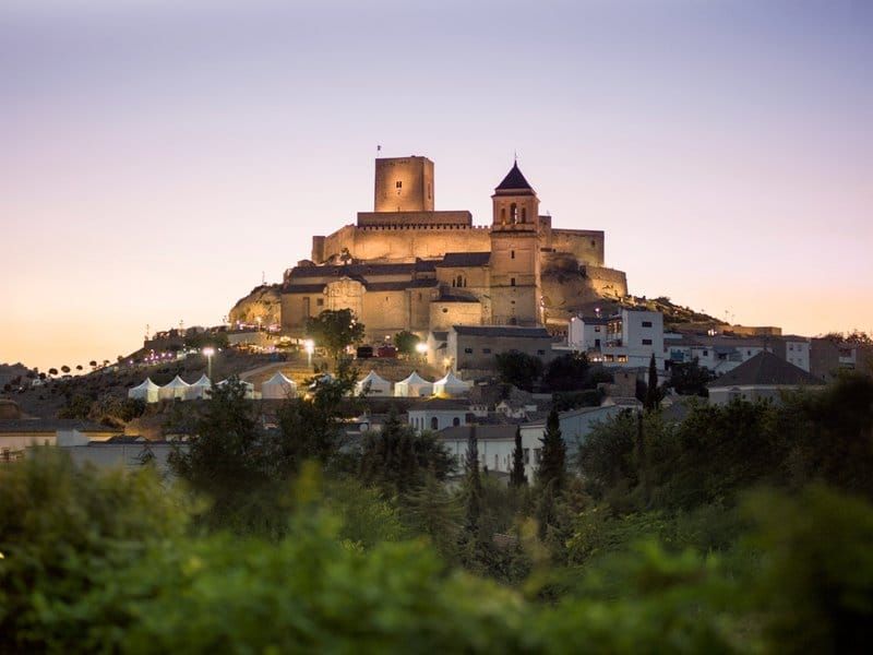 castillos espanoles cuento infantil Alcaudete