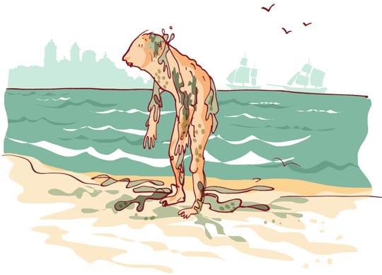 historia del hombre pez en cantabria