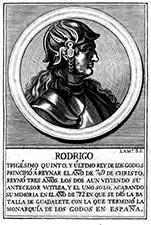 Rey Don Rodrigo leyendas