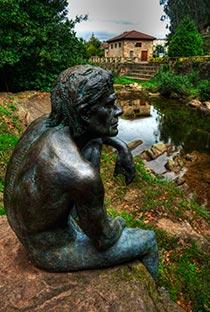 monumento al hombre pez