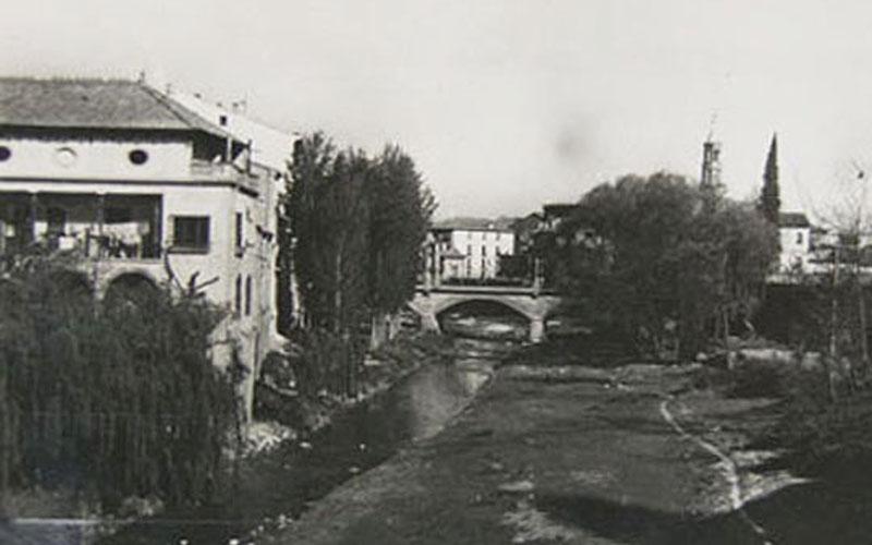 Imagen antigua de Barbastro