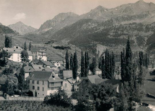 Imagen antigua de Salent de Gállego