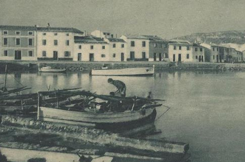 fotografia antigua fornells baleares