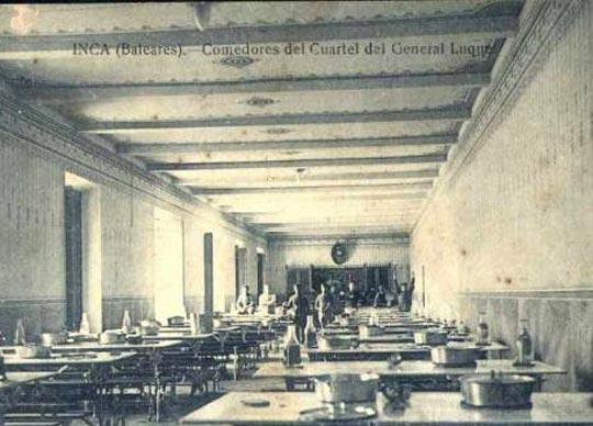 postan antigua cuartel general luque