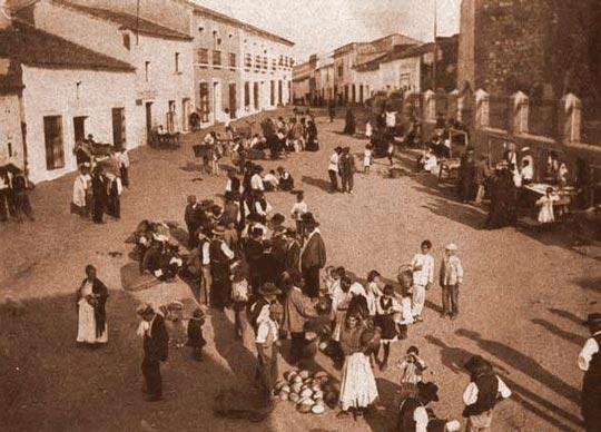 fotografia antigua alange