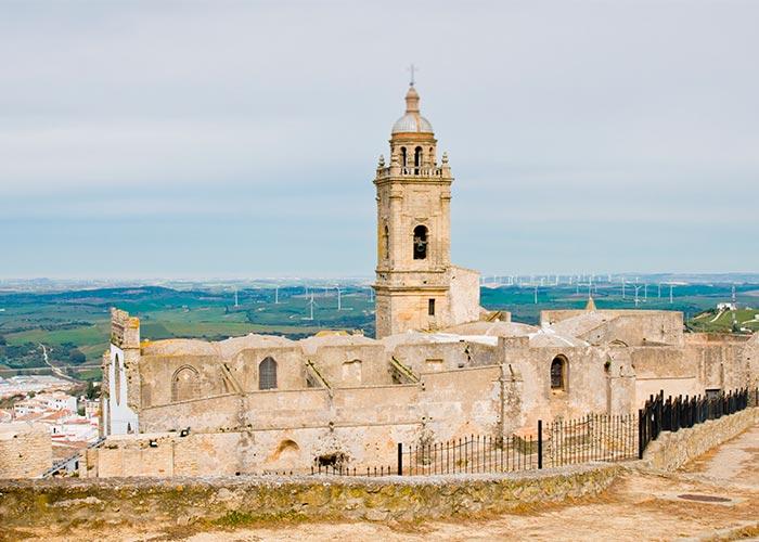 Restos del Castellum e Iglesia de Santa María la Coronada en Medina Sidonia