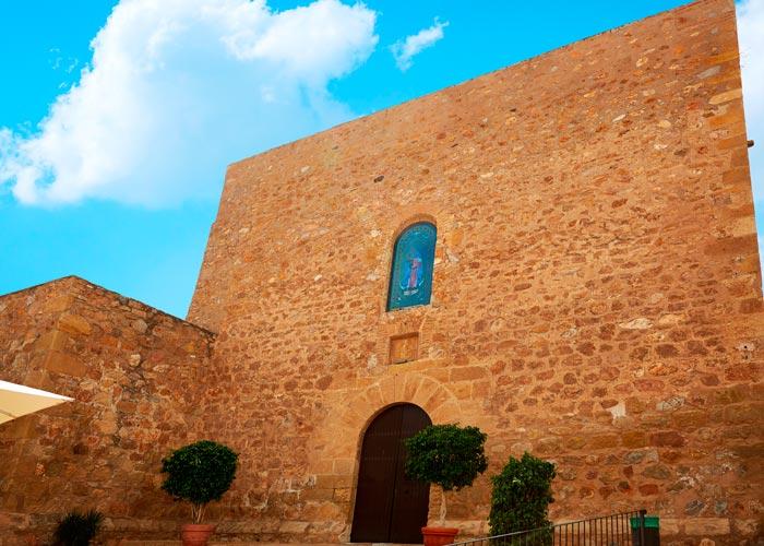 Iglesia-fortaleza de Santa María en Mojácar