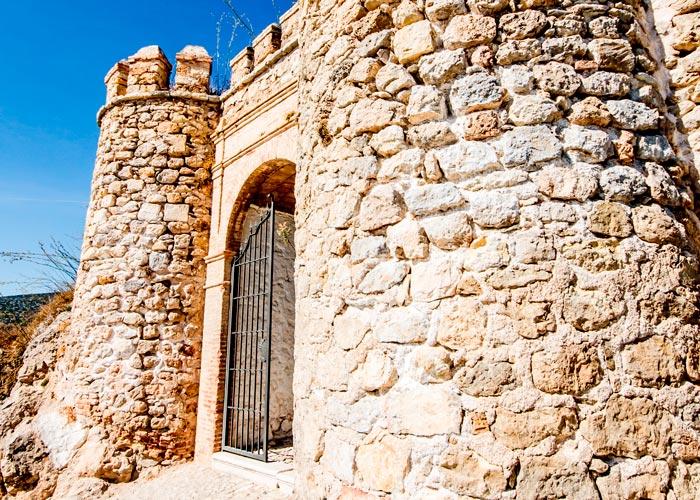 Entrada al Castillo de Carcabuey