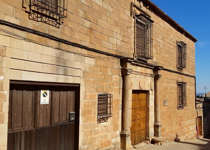 Palacio de los Molina de la Cerda en Baños de la Encina