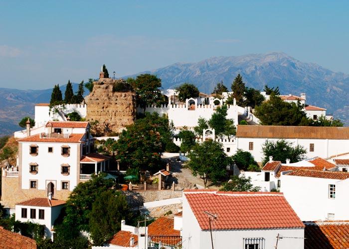 Vista de Comares, Málaga