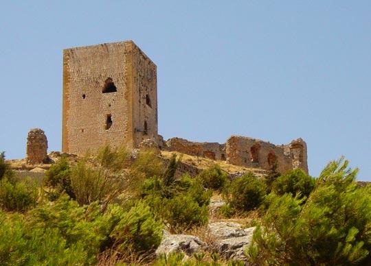 ruinas del Castillo de la Estrella de Teba