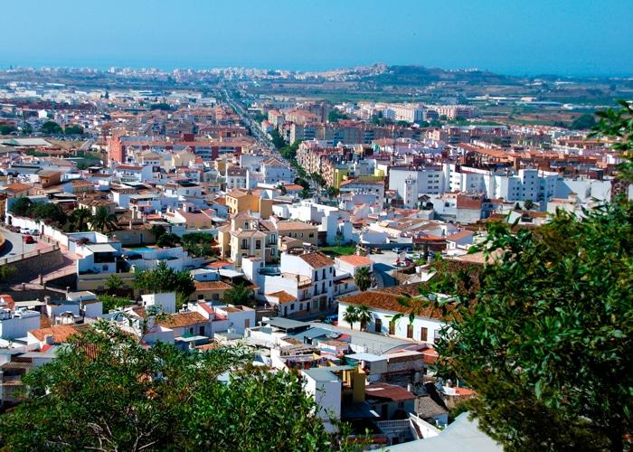 Vista de Vélez-Málaga en la actualidad