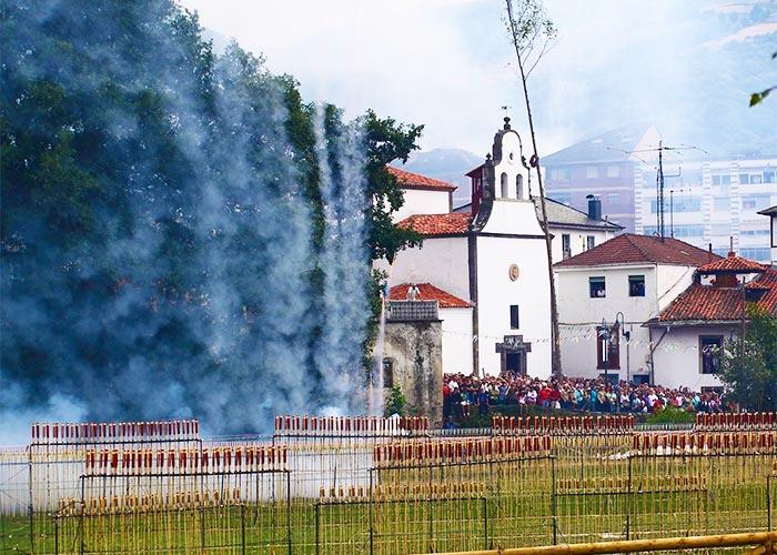 Fiestas del Carmen en Cangas de Narcea