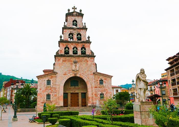 Iglesia de Nuestra Señora de la Asuncion cangas de onis