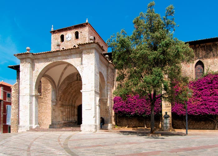 basilica santa maria llanes