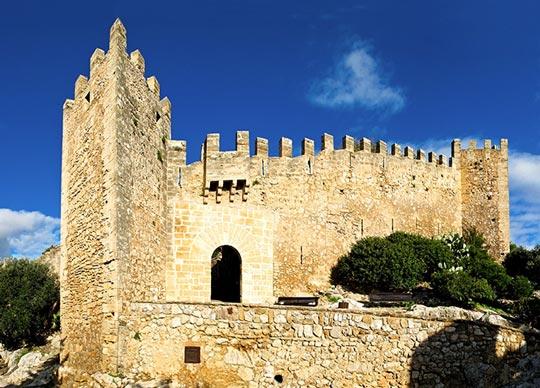 castillo capdepera