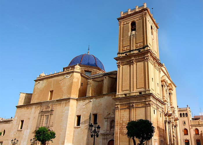 basilica santa maria elche